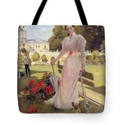 Portrait Of Princess Z.n Yusupova With Her Two Sons At Arkhangelskoe Tote Bag