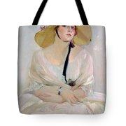 Portrait Of Raquel Meller Tote Bag