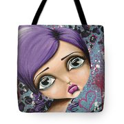Portrait Of Robin Tote Bag