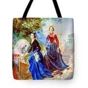Portrait Of Sisters Shishmarev Tote Bag