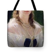 Portrait Of Sophie Troubetskoy  Tote Bag