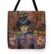Portrait Of Suzanne Valadon Tote Bag