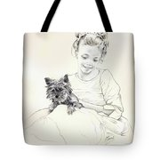 Portrait Of Sylwia Tote Bag