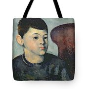 Portrait Of The Artists Son Tote Bag