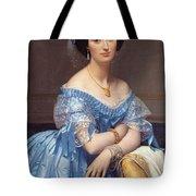 Portrait Of The Princesse De Broglie Tote Bag
