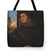 Portrait Of The Venetian Painter Giovanni Bellini Tote Bag