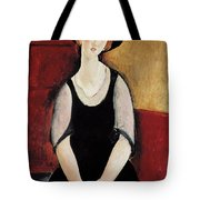 Portrait Of Thora Klinchlowstrom Tote Bag