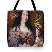 Portrait Of Vittoria Della Rovere As Saint Vittoria Tote Bag