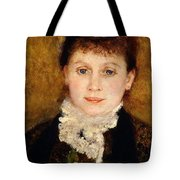Portrait Of Woman Tote Bag