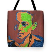 Portrait Plan Of Tennessee Williams  Tote Bag