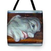 Portrait Sculpture Tote Bag