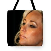 Portrait Young Woman Tote Bag