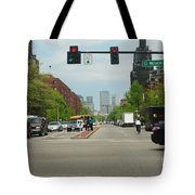 Portraits Of The City 001 Tote Bag