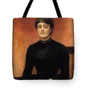 Portrat Of Jelizaveta Tote Bag
