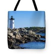 Portsmouth Harbor Light Tote Bag