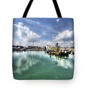 Portsmouth Old Harbour  Tote Bag