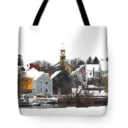 Portsmouth Waterfront Pwwc Tote Bag