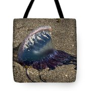 Portuguese Man-o War Beached Tote Bag
