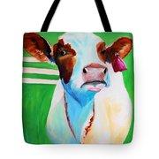 Posing Cow Tote Bag