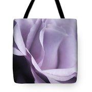 Posing Purple Rose Flower Tote Bag