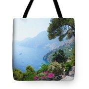 Positano Italy Amalfi Coast Delight Tote Bag