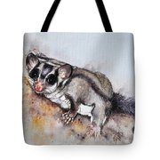 Possum Cute Sugar Glider Tote Bag