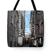Post Alley 6 Tote Bag