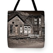 Post At Ten Thousand Feet Tote Bag