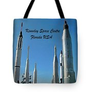 Post Card Of The Kennedy Space Centre Florida Tote Bag