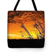 Post Hurricane Rita Clouds At Dockside In Beaumont Texas Usa Tote Bag