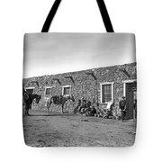 Post Office In Ganado, Arizona Tote Bag