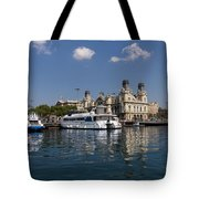Postcard From Barcelona Tote Bag