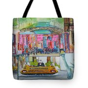 Postcards From New York City Tote Bag