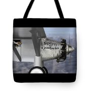 Postcards From Otis - Corgi Crossing Tote Bag