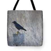 Posted Crow Tote Bag