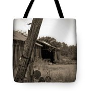 Posted In Time Tote Bag by Amber Kresge