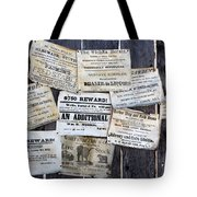 Posted To My Wall Tote Bag