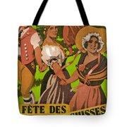 Poster Advertising F?te Des Costumes Tote Bag
