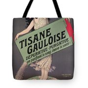 Poster Advertising Tisane Gauloise Tote Bag