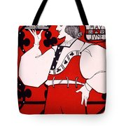 Poster For Art Metal Exhibition At The Royal Aquarium Tote Bag by Isobel Lilian Gloag