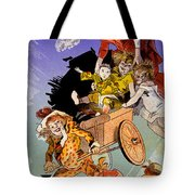Poster For Aux Buttes Chaumont Toy Tote Bag