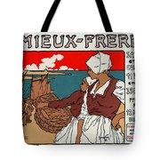 Poster Sardines, 1899 Tote Bag