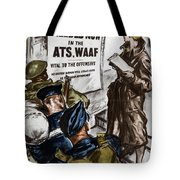 Poster Women Recruit Tote Bag