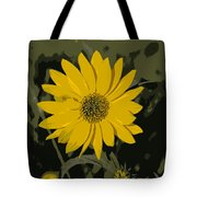 Posterized Smooth Oxeye Tote Bag