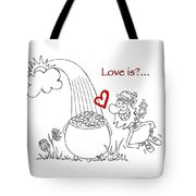 Pot Of Gold Valentines  Tote Bag
