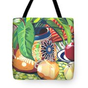 Pot With Onions Tote Bag