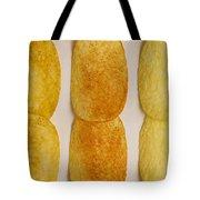 Potato Chip Rows 1 Tote Bag