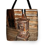 Potbelly Stove Tote Bag by Marty Koch