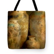 Pots Of Time Tote Bag