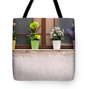 Potted Flowers 01 Tote Bag by Rick Piper Photography